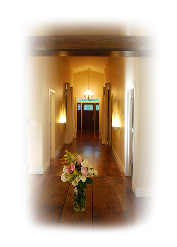 Quail Valley Custom Homes Hallway Welcome Image